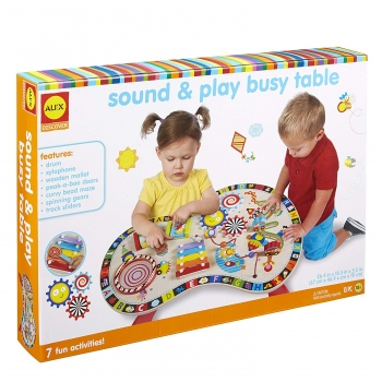 Discover Sound and Play Busy Table Kids Art and Craft Activity