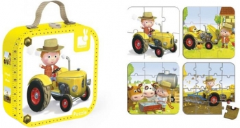 Peter's Tractor Puzzle
