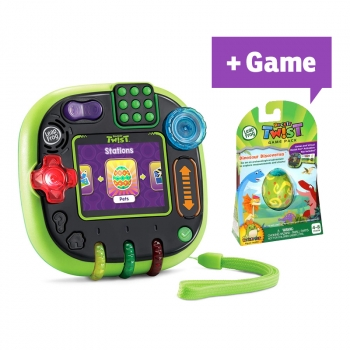 Rockit Twist™ Gaming System, Green + Game Pack Dinosaur Discoveries