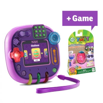 Rockit Twist™ Gaming System, Purple + Game Pack Cookie's Sweet Treats